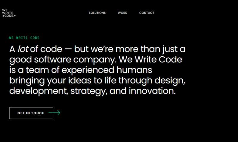 We Write Code - Photo - 1