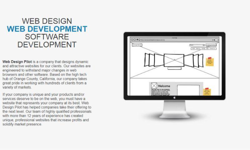 Web Design Pilot - Photo - 2