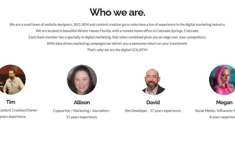 Digital Goliath Marketing Group - Photo - 2