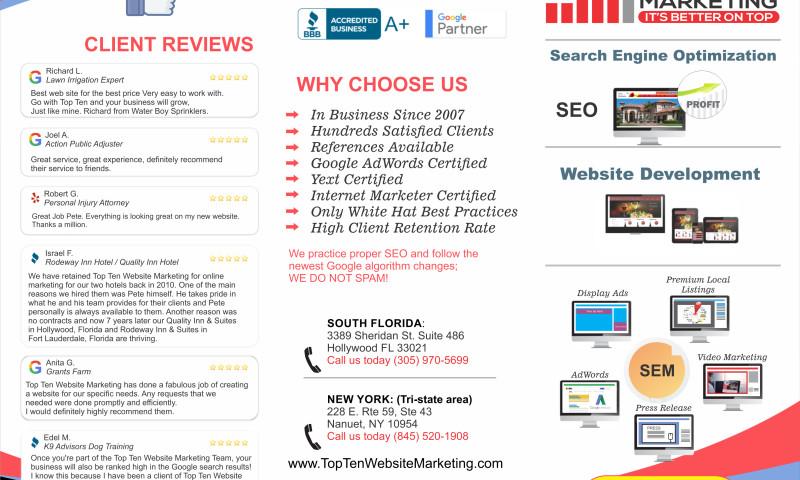 Top Ten Website Marketing - Photo - 1