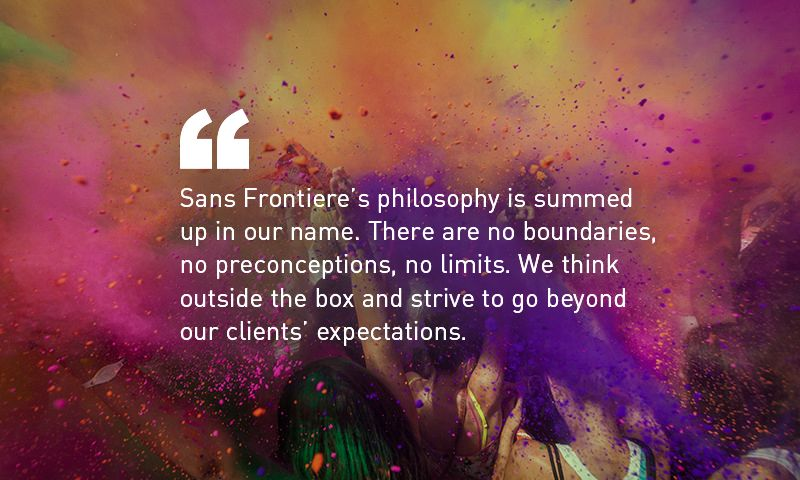 Sans Frontiere Marketing Communications - Photo - 2