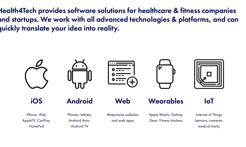 Health4Tech (Tech solutions for healthcare) - Photo - 3