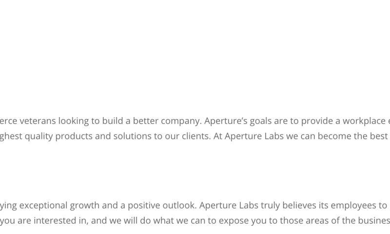 Aperture Labs Inc - Photo - 3