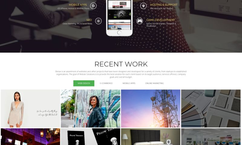 Webski Solutions Reviews | View Portfolios | DesignRush