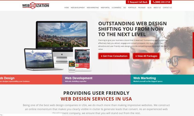 Webmization Reviews | View Portfolios | DesignRush