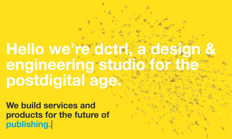 dctrl - studio for creative technology - Photo - 2