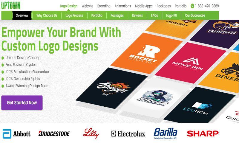 Uptown logo design - Photo - 3