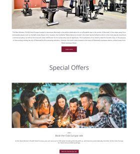 Best Westran Hotel website design