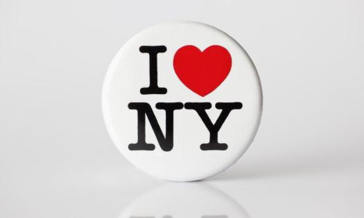 I Heart NY Button