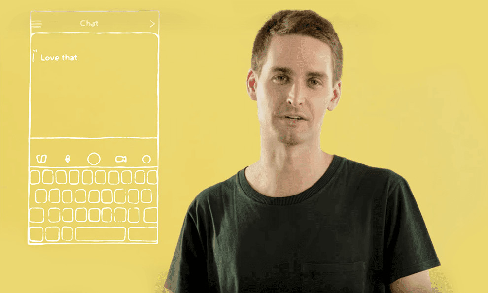 Watch: Snapchat Has a Whole New App Design - And Evan Spiegel is Here to Tell Us About It