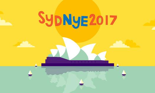 SydNYE Australia Print Designs New Year's Eve Opera House