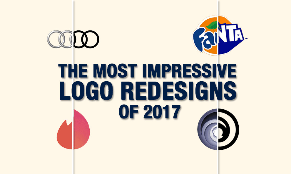 The Most Impressive Logo Redesigns of 2017