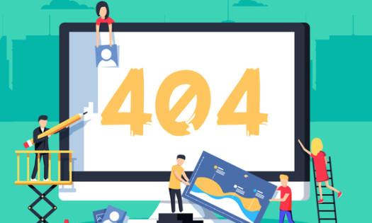 Best 404 Pages Web Design