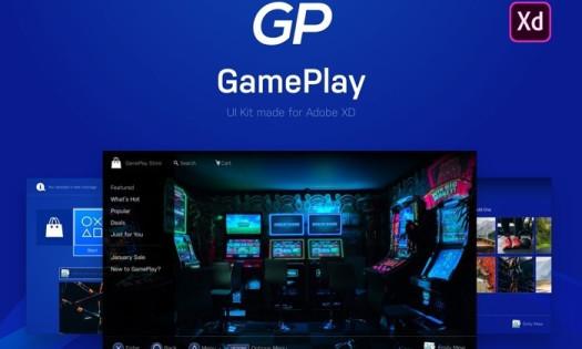 Adobe XD Update Free UI Kits UX Design GamePlay