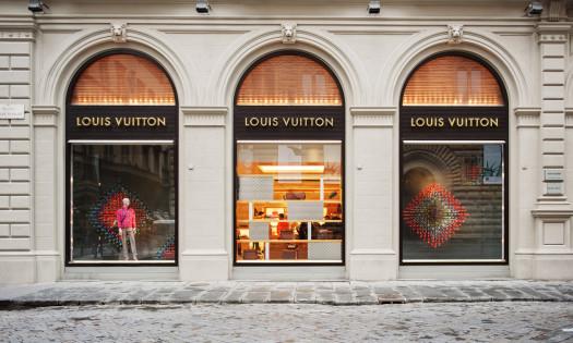 Louis Vuitton Storefront Iconic Fashion Logo Designs