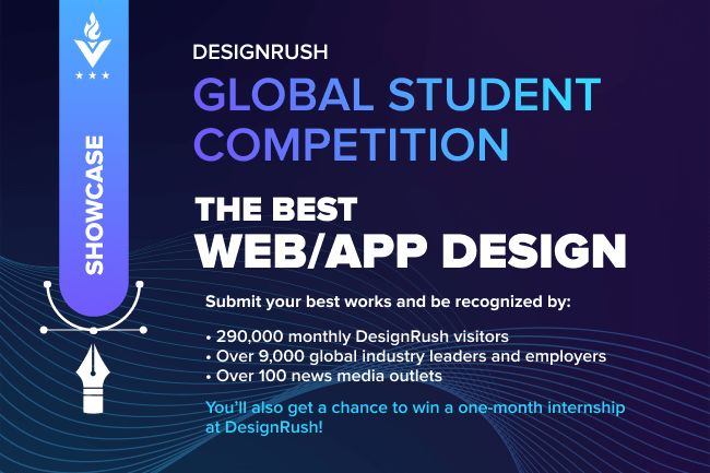 The Global Student Competition Now Open For Fall 2021 Applications. Nominate Your Web Or App Design Today!