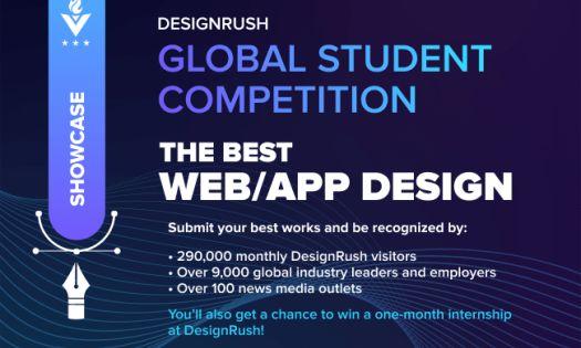 DesignRush Global Student Competition: App & Web Design 2021