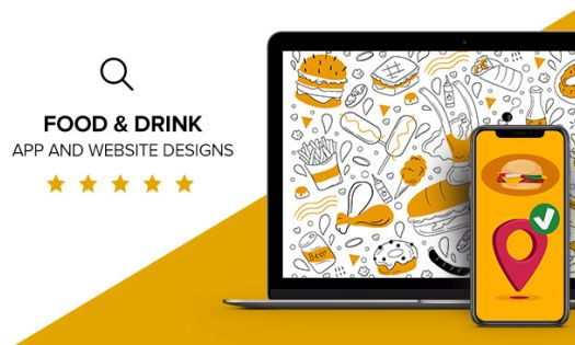 Food & Drink App and Website Designs