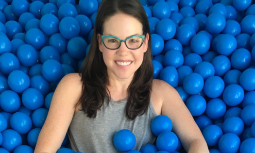 Laura LeBel Freelance Creative Art Director Blue Ball Pit