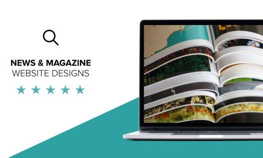 Best News & Magazine Website Designs