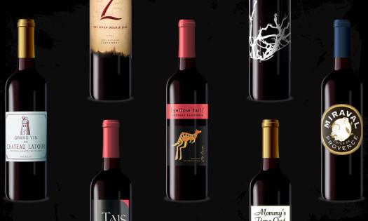 Best Wine Bottle Logos Label Designs