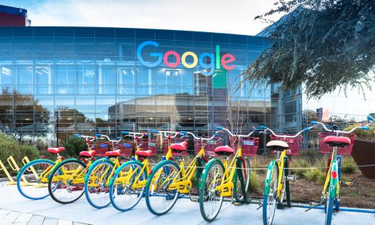 Google New Logo Bikes HQ