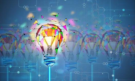 Design Thinking Ideas Light Bulbs