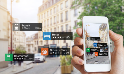 Digital Marketing Trends Augmented Reality App