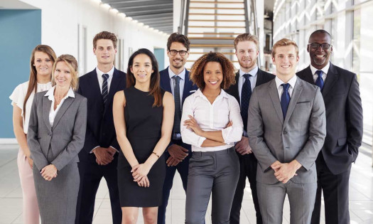 Diverse Business Leadership Employees