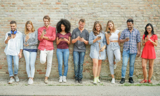 Diverse Millennials Social Media eCommerce Purchases