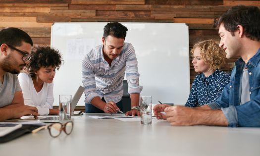 Marketing Agency Meeting