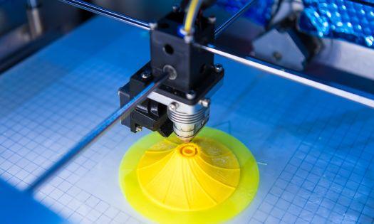 3D Printer Creating Object