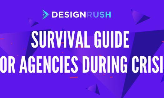 agency survival guide - webinar poster - designrush