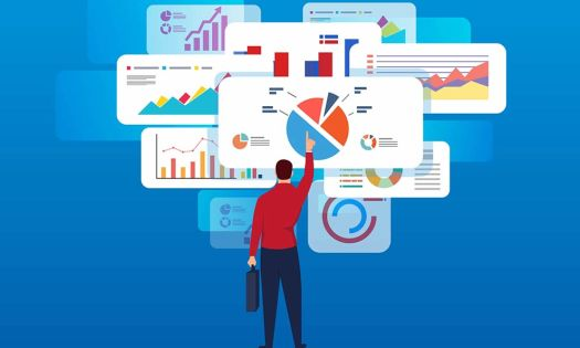 Looking at the metrics of useless website