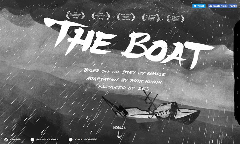 The Boat by SBS Creative Website Design