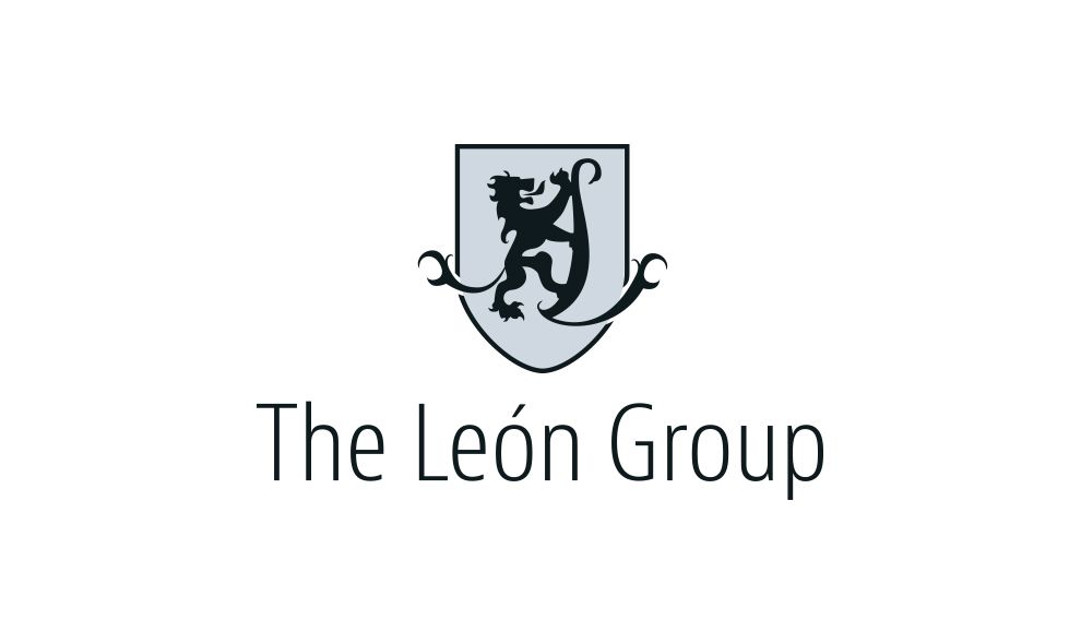 Leon Group Classic Logo Design