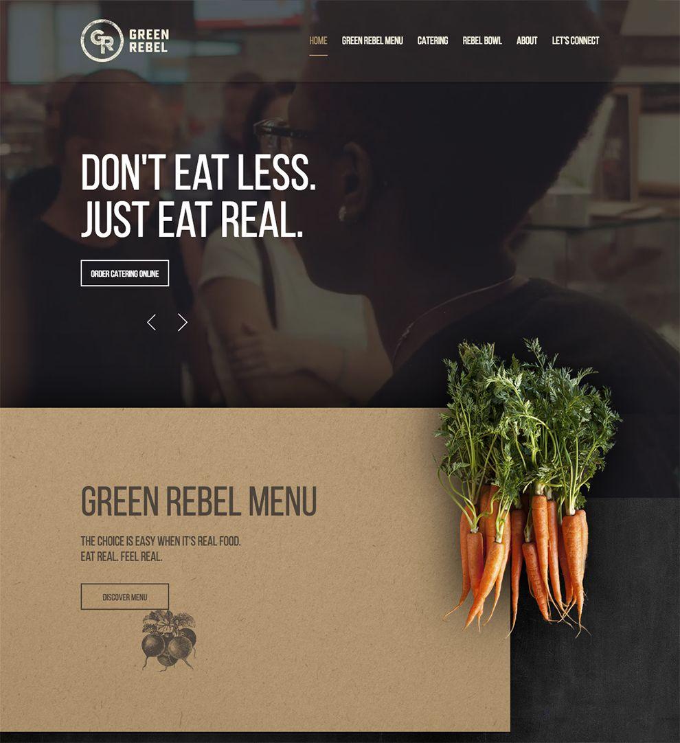 Green Rebel Professional Homepage