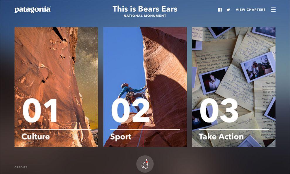 Patagonia - This is Bears Ears Beautiful Homepage