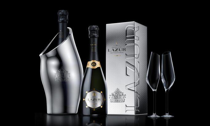 Lazur Sparkling Gorgeous Package Design