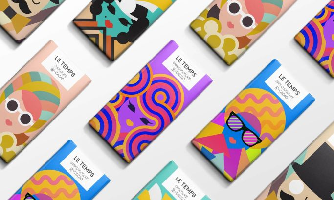 Le Temps Chocolate Fun Package Design