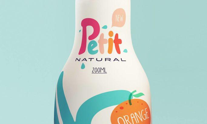 Petit Natural Juice Bright Package Design