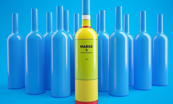 Homer Wine Marge Package Design