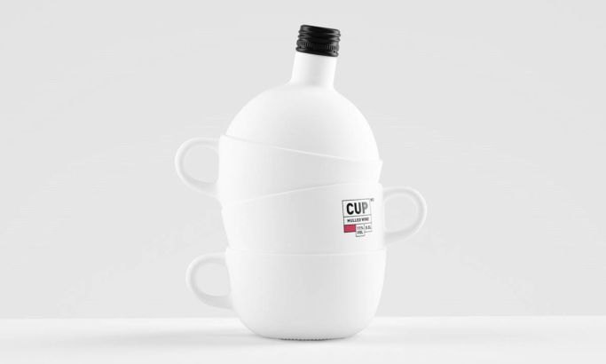 Cap Bottle Elegant Package Design