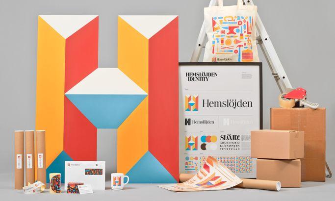 Hemsloejden Vivid Print Design