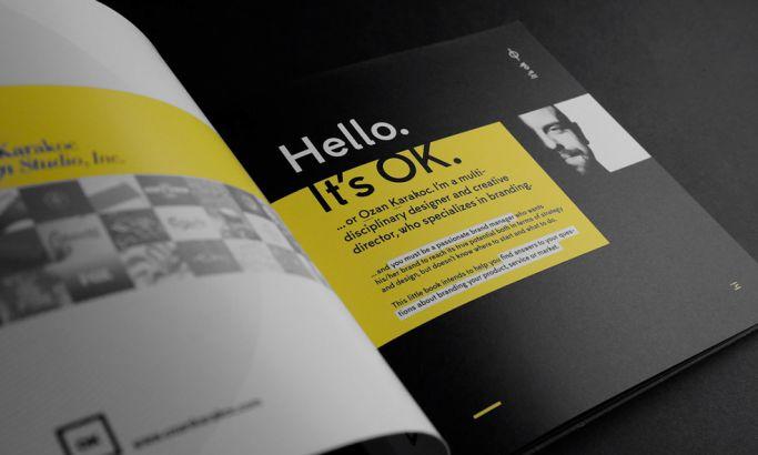 Its OK Minimalist Print Design