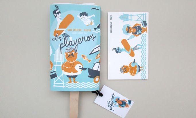 Los Playeros Great Package Design