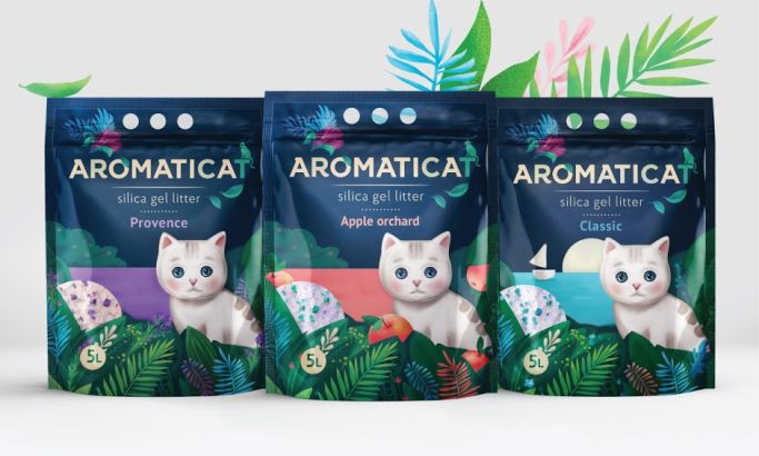 Aromaticat Awesome Package Design