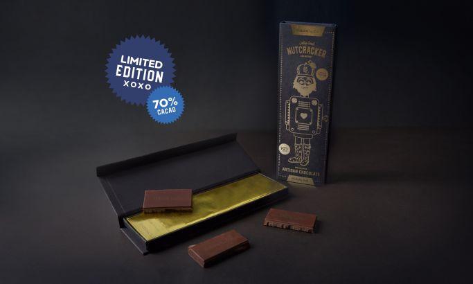 Nutcracker Chocolate Elegant Package Design