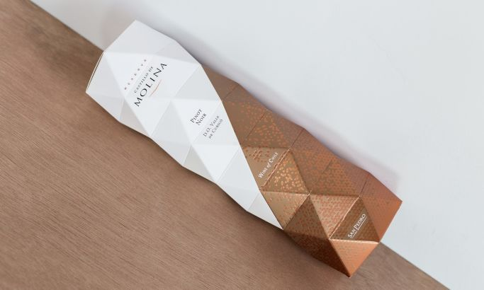Castillo De Molina Origami Beautiful Package Design