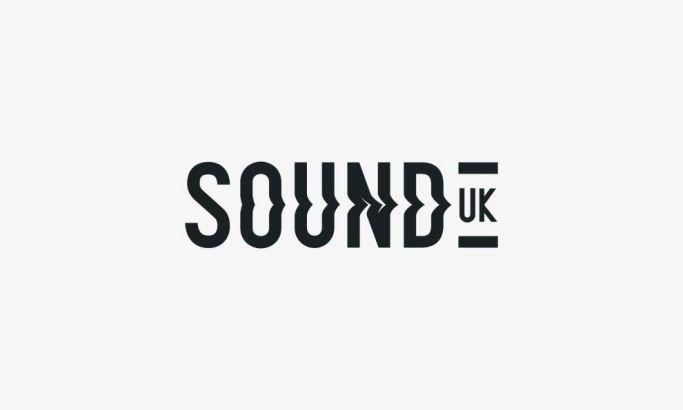 Sound UK Simple Logo Design